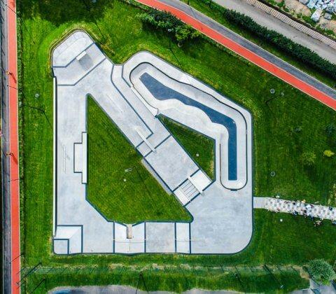 Новый скейт парк на Черкизовской