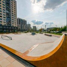 Скейт парк в ЖК Испанские кварталы
