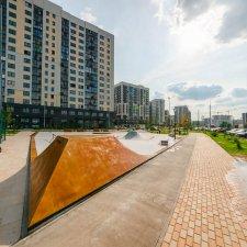Новый скейт парк ЖК Испанские кварталы