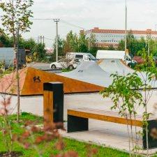 Открытие скейт парка в Испанских кварталах