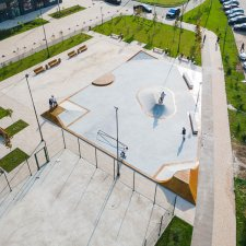 Скейт парк в Новой Москве