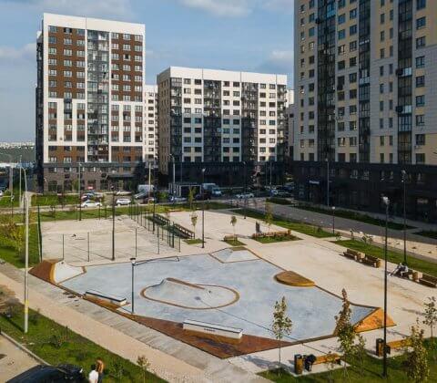 Спортивная площадка в ЖК Испанские кварталы