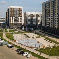 Бетонный скейт парк в Москве: фото