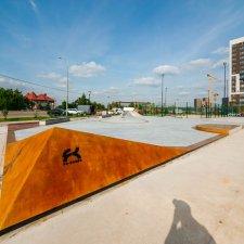 Скейт парк в Новой Москве: фото