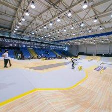 Скейт парк для европейского чемпионата