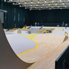 Скейт парк: фото