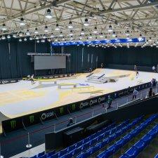 Скейт парк для чемпионата Европы