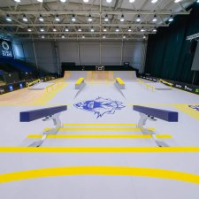 Подготовка к чемпионату Европы по скейтбордингу