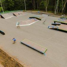 Скейт парк в городе Узловая