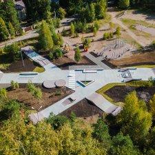 Проект бетонного скейт парка