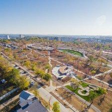 Реконструкция парка Учкуевка