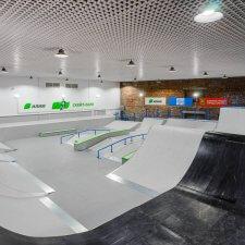 Скейт площадка в Братске