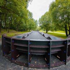 Модульный памптрек в парке Битца