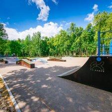 Скейт парк в Монино