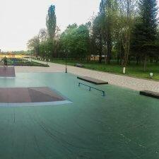 Скейт парк в парке Победы