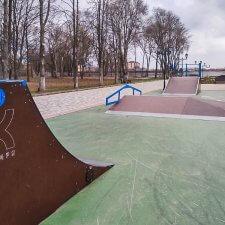 Модульный скейт парк