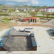 Новая скейт площадка в Крыму