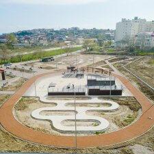 Скейт парк в Судаке: фото сверху
