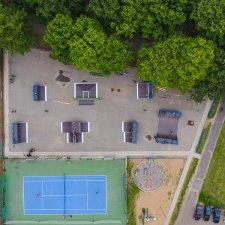 Обновленный скейт парк на проспекте Победы