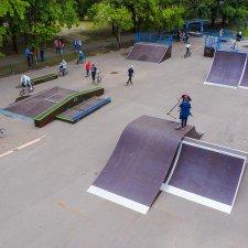 Модульный скейт парк в Твери