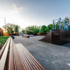 Скейт парк в Очаково-Матвеевском