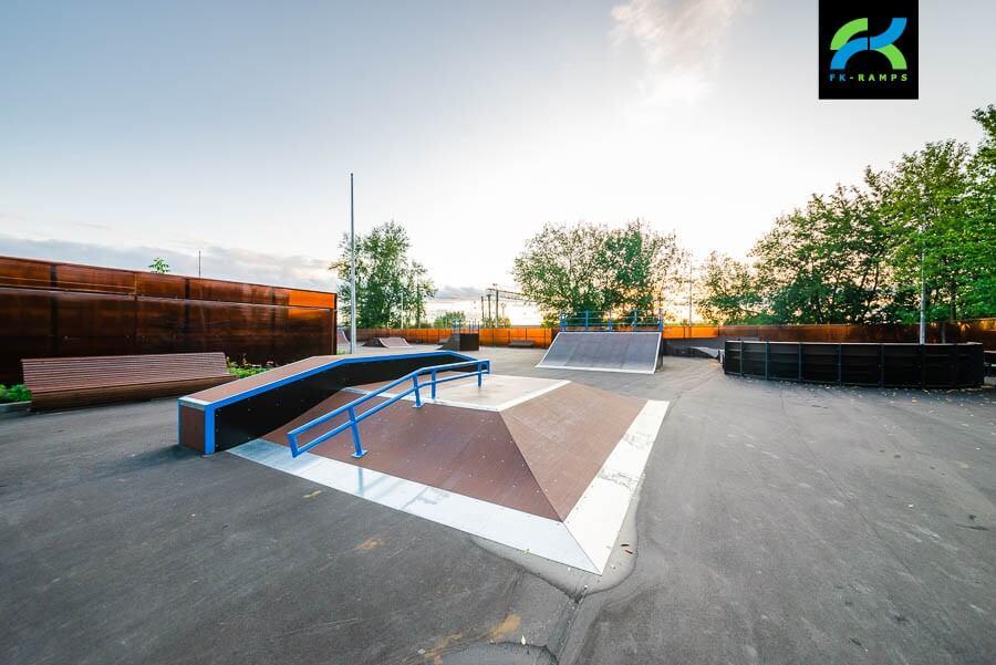 Скейт парк и памп трек в Очаково-Матвеевском