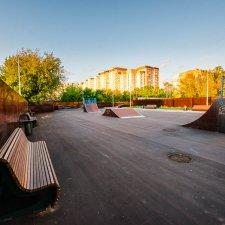 Новый скейт парк