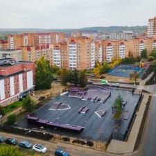 Скейт парк во Всеволожске: фото