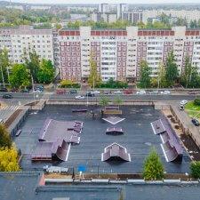 Скейт парк на Ленинградской улице
