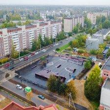 Скейт парк во Всеволожске на Ленинградской улице