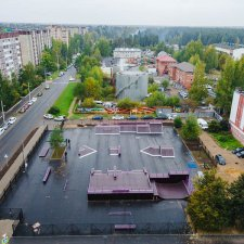 Обновленный скейт парк