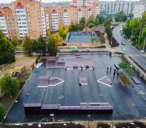 Обновленный скейт парк: фото