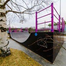 Элементы скейт парка: фото