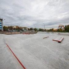 Элементы бетонного скейт парка