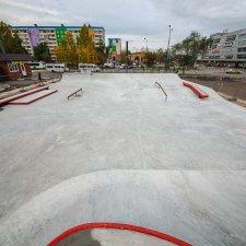 Бетонный скейт парк в Реутове: фото