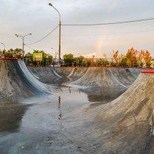 Скейт парк в Реутове