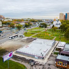 Бетонный скейт парк в Реутове
