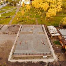 Скейт парк в Реутове: вид сверху