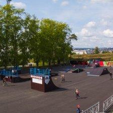 Скейт парк в Челябинской области