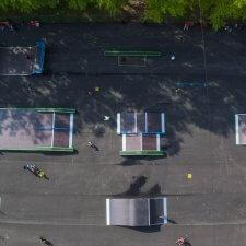 Новый скейт парк в Миассе