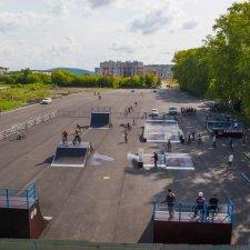 Скейт парк в Миассе