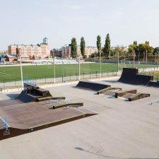 Скейт парк в Липецкой области
