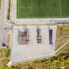 Деревянный скейт парк в Ельце: фото