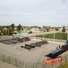 Обновленный скейт парк в Ельце