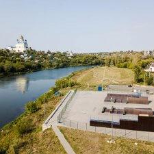 Спортивная площадка в городе Елец