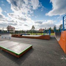 Элементы скейт парка в Левашово