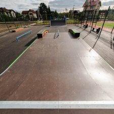 Деревянный скейт парк: фото