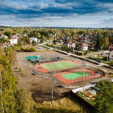 Скейт парк на проспекте Карпова: вид сверху