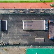 Скейт парк в Левашово