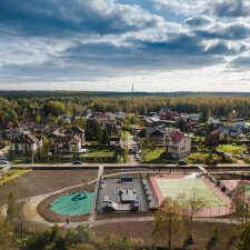 Скейт парк в Левашово: фото